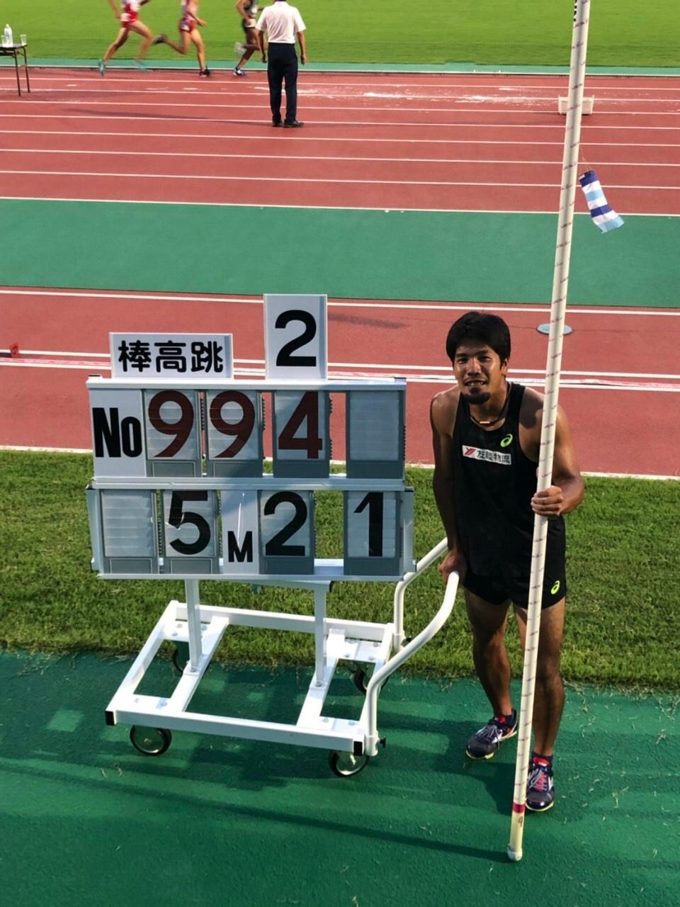 第74回 九州陸上競技選手権大会  兼第104回日本陸上競技選手権大会予選 結果報告