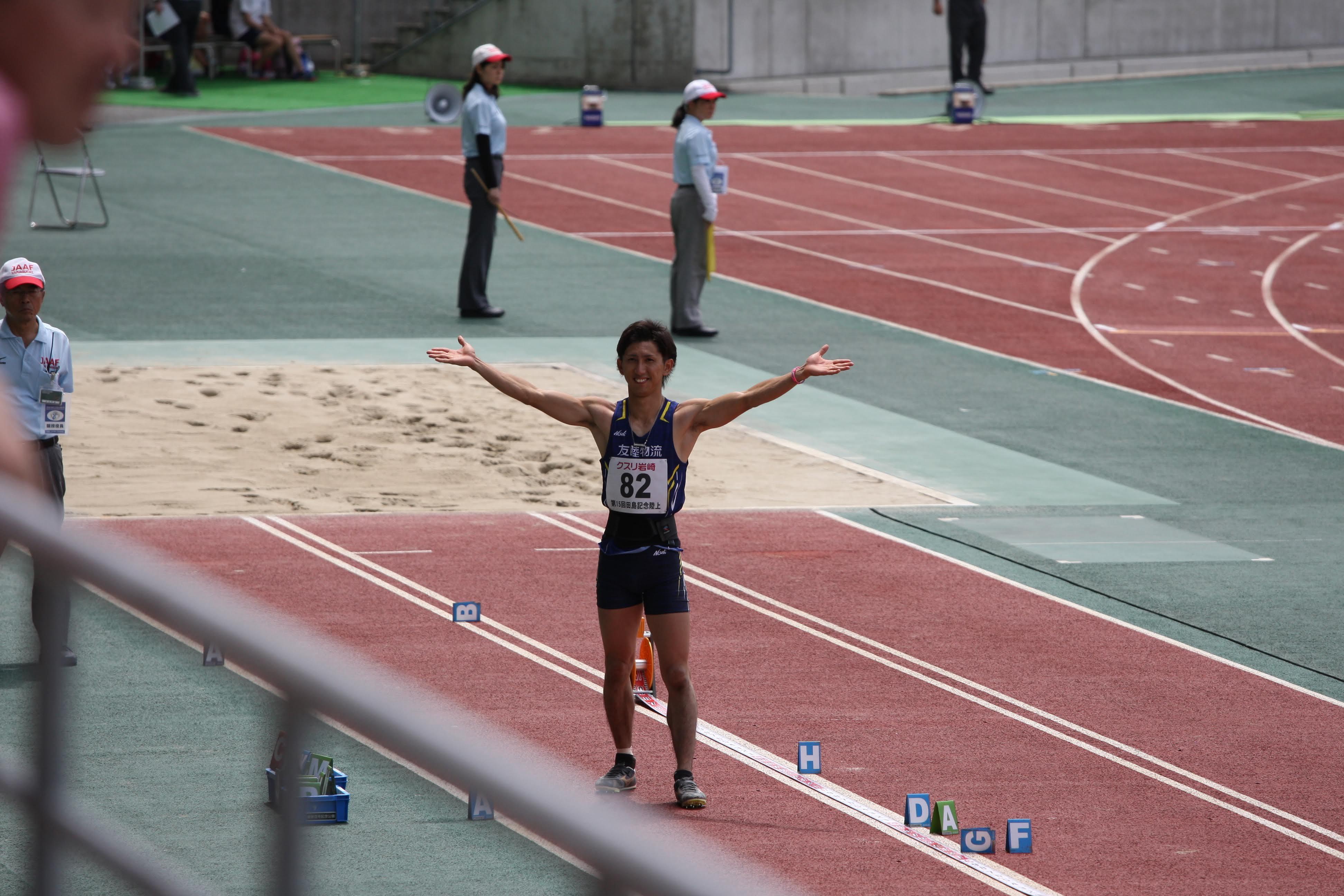 第15回田島直人記念陸上競技大会 結果報告