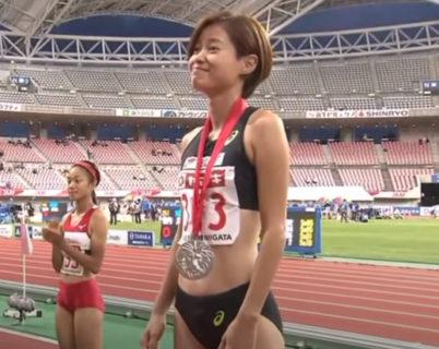 徳本鈴奈、日本選手権で2位入賞